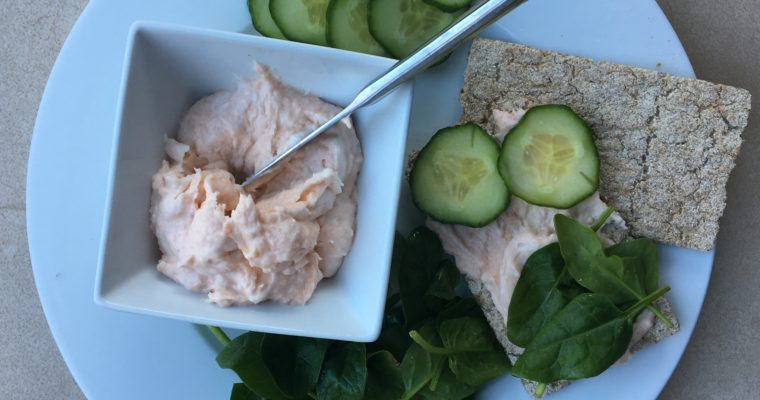 Super Fast Smoked Salmon Pate