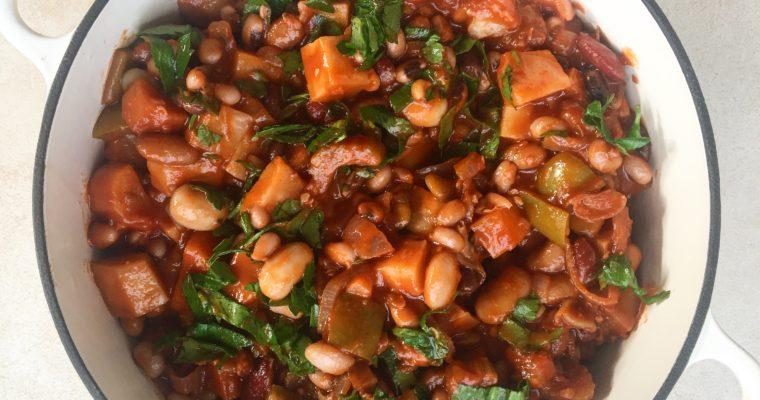 Bean and Celeriac Stew