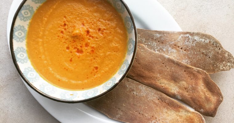 Roasted Carrot and Paprika Soup
