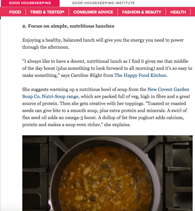 In the News – Good Housekeeping