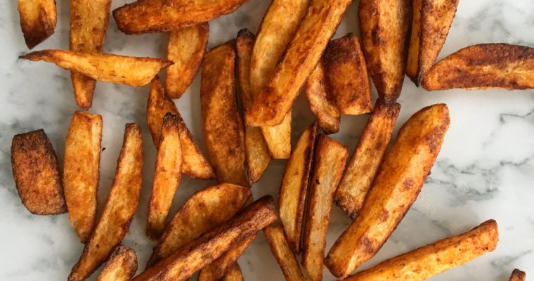 Spicy Baked Fries
