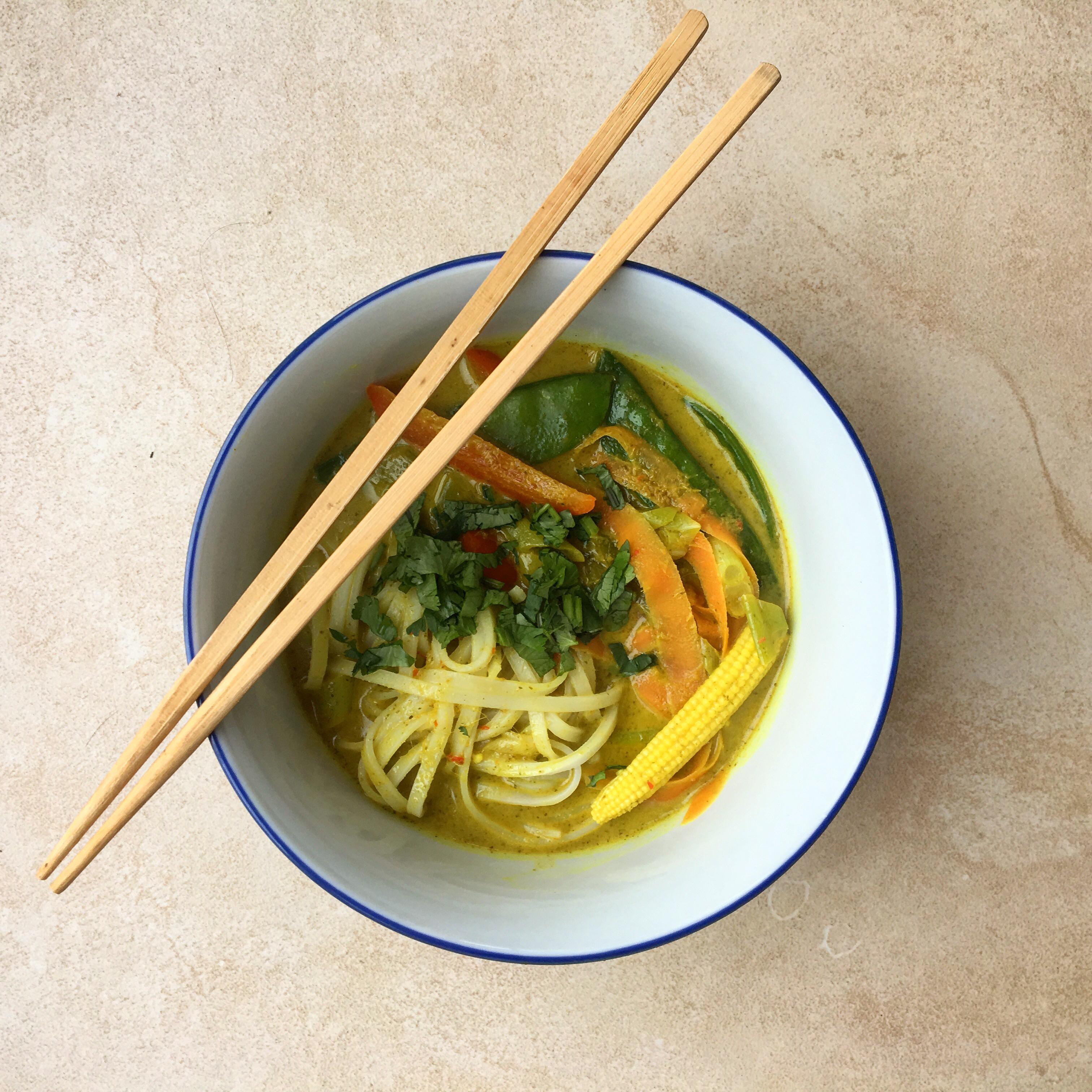 Vegetable Laksa