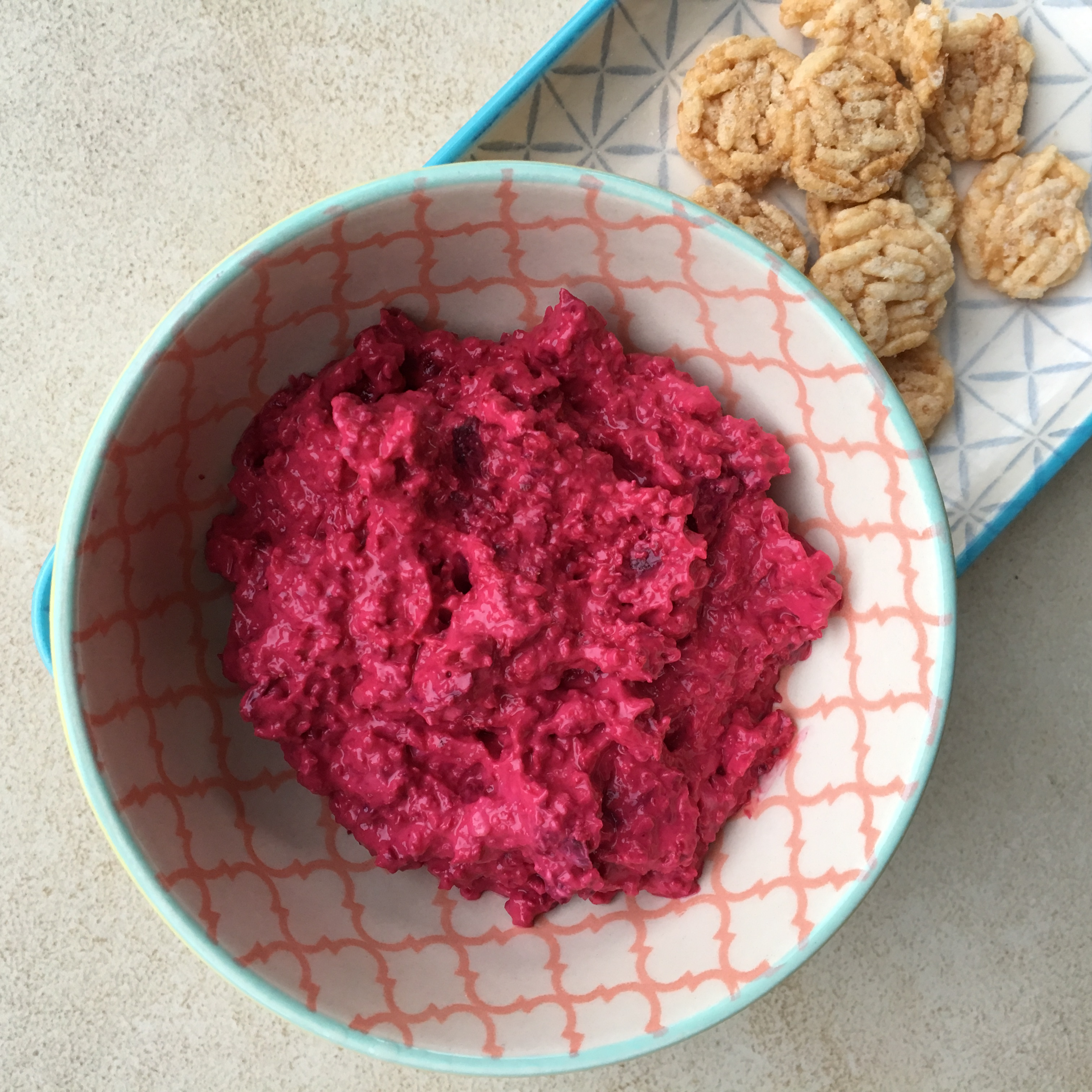 Creamy Beetroot Pate