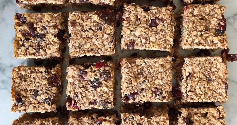 Seed and Fruit Flapjacks