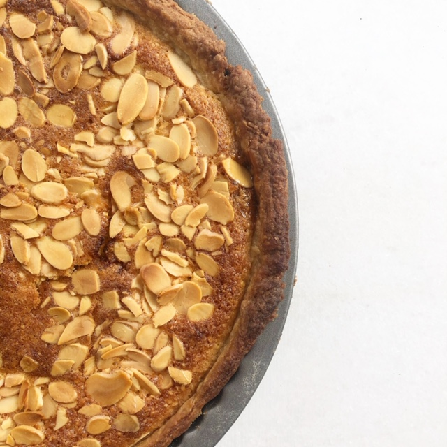 No need for flour Almond Tart – perfect for lockdown!