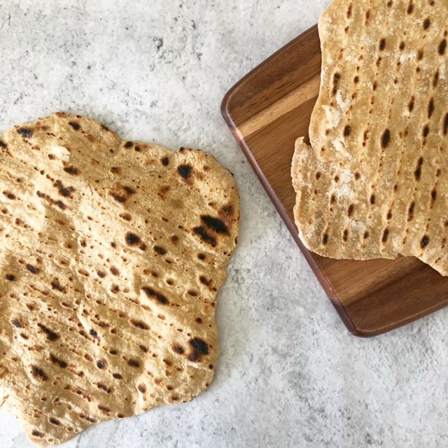Quick and Easy Wholemeal Flatbread