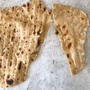 Ripped Quick and Easy Wholemeal Flatbread