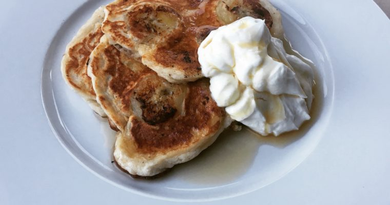 Banoffee Pie Pancakes
