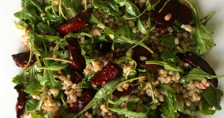 Pearl Barley and Beetroot Salad
