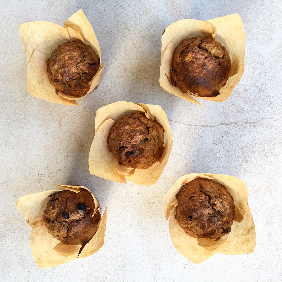 Sugar-free Carrot Cake Breakfast Muffins