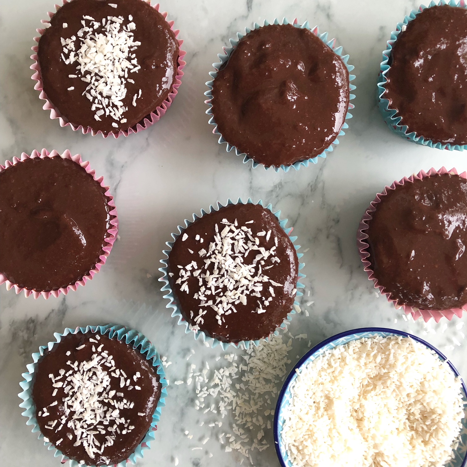 Free From Everything Healthy Chocolate Brownie Muffins