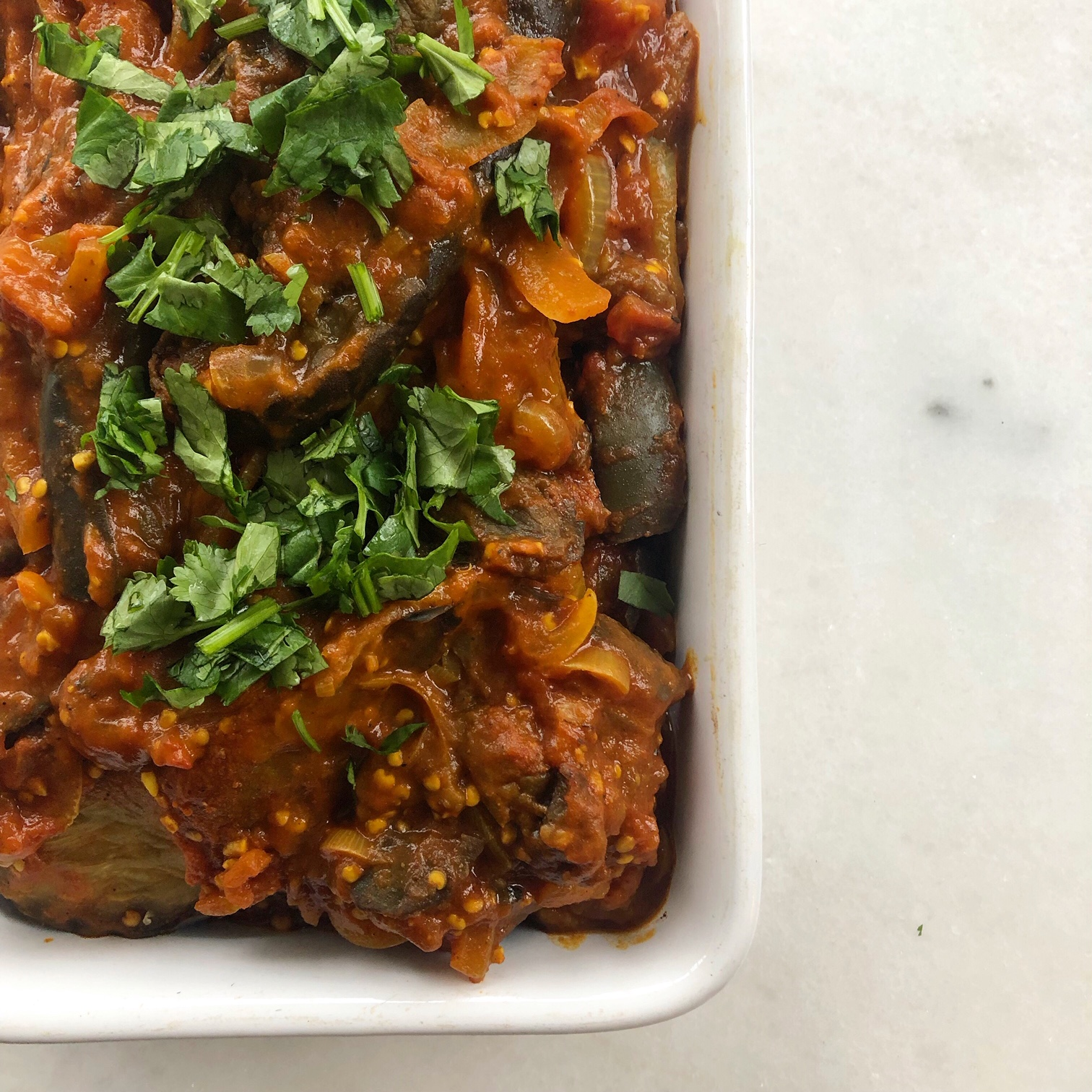 Aubergine Curry  (Eggplant Curry)